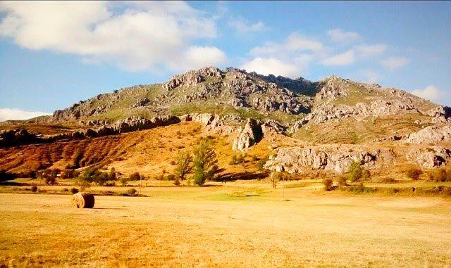 Paisaje montañoso de León