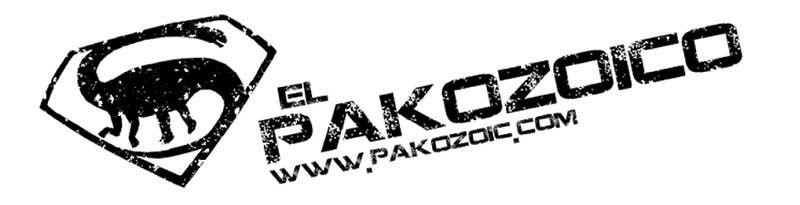 Logotipo del blog El Pakozoico