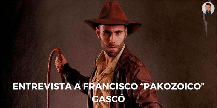 """Entrevista a Francisco """"Pakozoico"""" Gascó"""