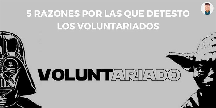 El lado oscuro de los voluntariados
