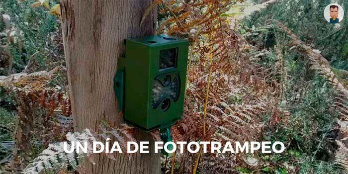 Instalando cámaras de fototrampeo