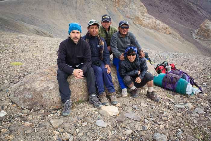 Óscar y los guías de montaña
