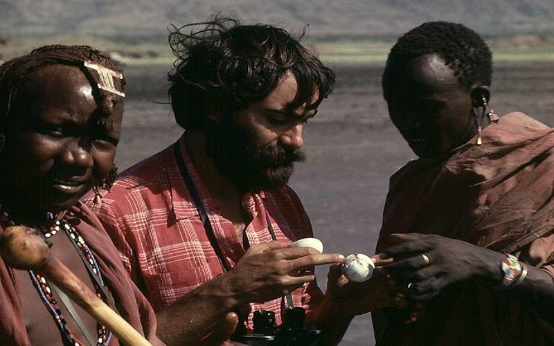 En su viaje por África