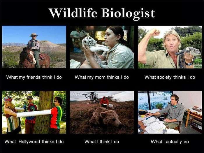 Lo que la gente piensa de la biología