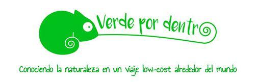 El logo del proyecto viajero Verde por dentro