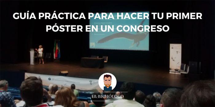 Guía práctica para crear tu primer póster en un congreso