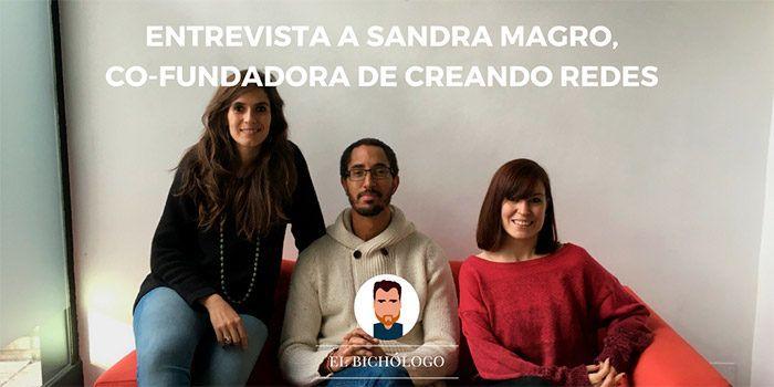 Entrevista a Sandra Magro, co-fundadora de Creando Redes