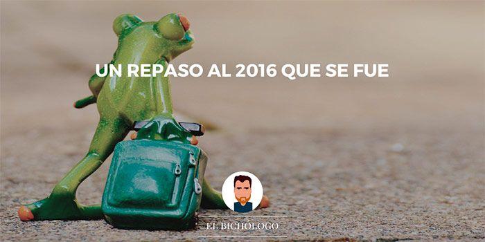 Un repaso al 2016 que se fue