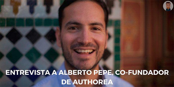 Entrevistando a Alberto Pepe, de Authorea