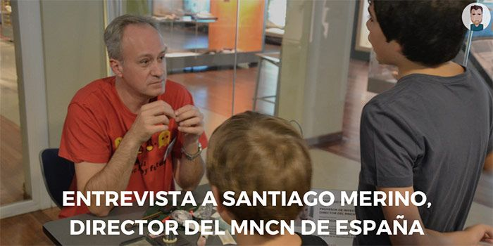 Entrevista a Santiago Merino, director del Museo Nacional de Ciencias Naturales de Madrid