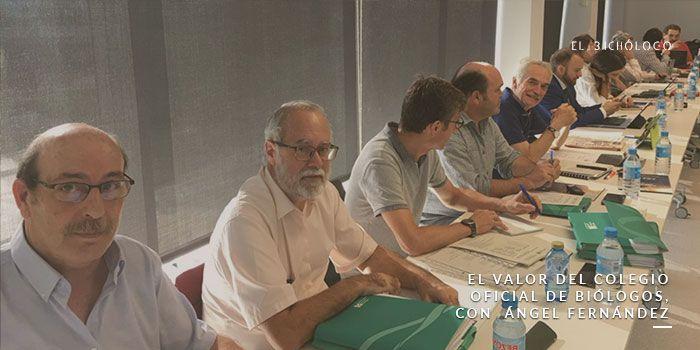 El valor del colegio oficial de biòlogos, con Ángel Fernández