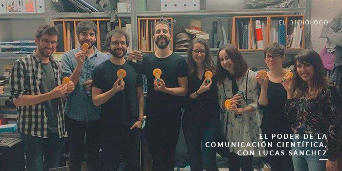 El poder de la comunicación científica, con Lucas Sánchez