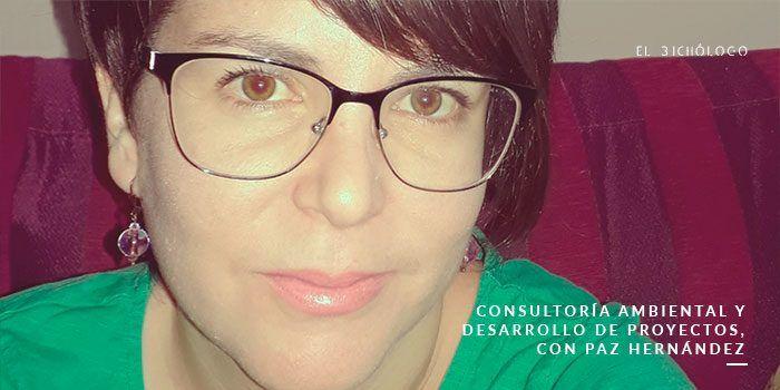 Consultoría ambiental y desarrollo de proyectos, con Paz Hernández