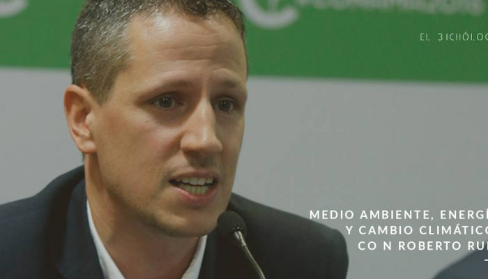 Entrevista a Roberto Ruiz sobre energía, medio ambiente y cambio climático